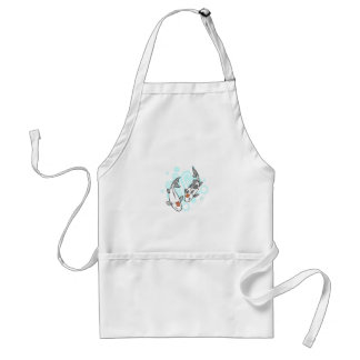 KOI AND WATER ADULT APRON