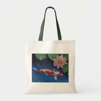 Koi and Water Lily Bags