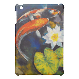 Koi and Water Lily iPad Case
