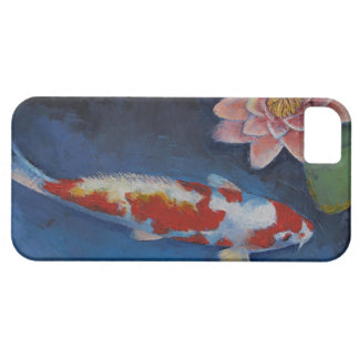 Koi and Water Lily iPhone SE/5/5s Case