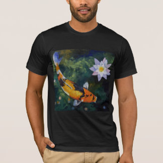Koi and Water Lily T-Shirt
