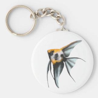 Koi Angelfish Keychain