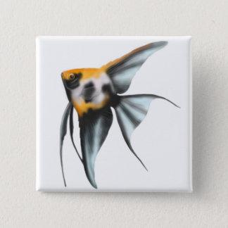 Koi Angelfish Pin