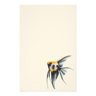 Koi Angelfish Stationery