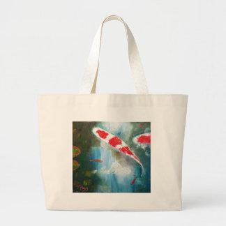 Koi Art Kohaku Large Tote Bag