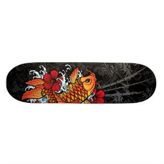 Koi Bamboo Skateboard
