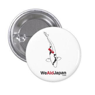 Koi Bandaid Botton 鯉バンドエイドボタン Button