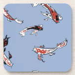 koi beverage coaster