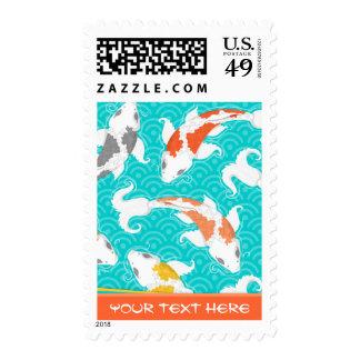 Koi bonito sellos postales