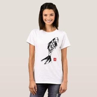KOI BRUSH PAINTING BLACK T-Shirt