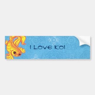 Koi Bumper Sticker