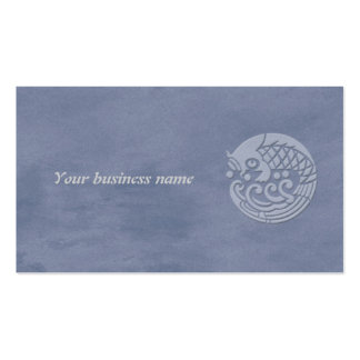 koi Double-Sided standard business cards (Pack of 100)