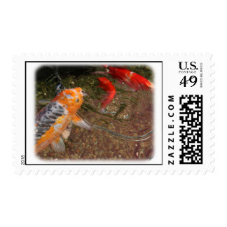 Koi Carp 9Y789D-403 Postage Stamps