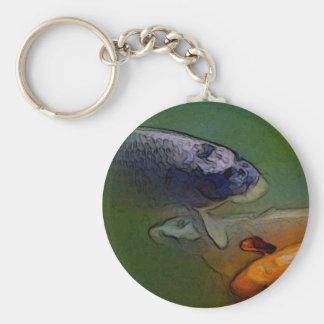 Koi Carp Custom Fish Key Chain