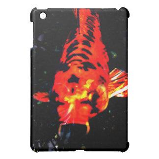 koi carp decorative red fish iPad mini case