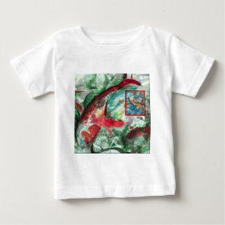 Koi Carp Fish Painting Baby T-Shirt