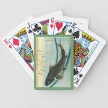 Koi (Carp) - Hiroshige's Japanese Fish Print Deck Of Cards
