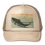 Koi (Carp) - Hiroshige's Japanese Fish Print Trucker Hat