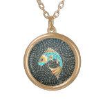 Koi Carp Symbol of Fortune Good Luck Charm Custom Necklace