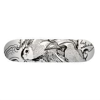 Koi Carpa Skate Boards