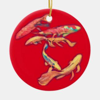 Koi Ceramic Ornament