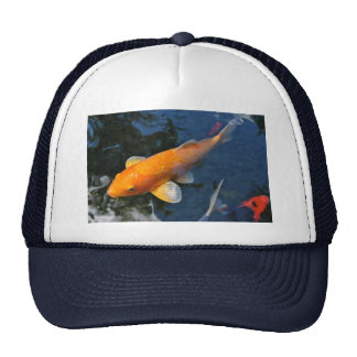 Koi Coral And The Plural Tone Trucker Hat