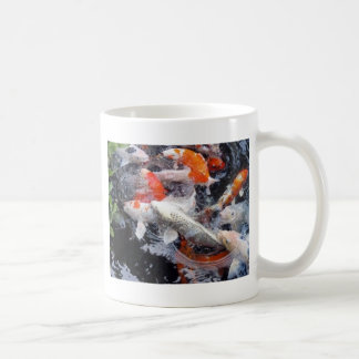 Koi crowd coffee mug
