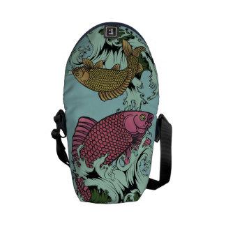 Koi Dance Messenger Bag