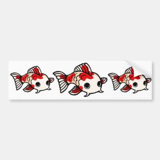Koi Design Bumper Sticker