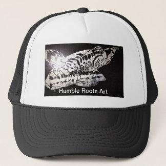 Koi Design Humble Roots Art Hawaii Trucker Hat