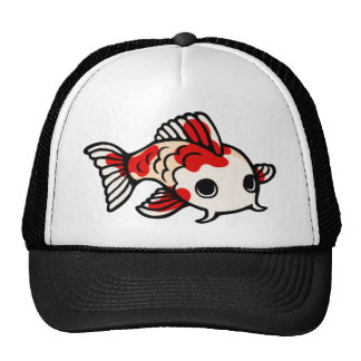 Koi Design Trucker Hat