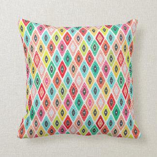 koi diamond throw pillow