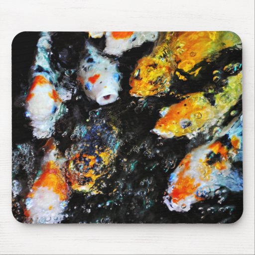 Koi Fish (2) Mousepad