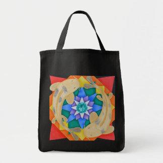 Koi Fish and Lotus Bag