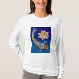 Koi Fish and Lotus T-Shirt