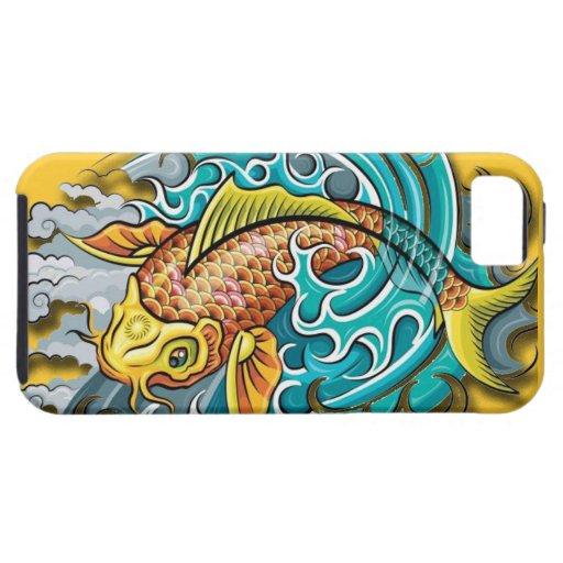 Koi Fish Art iPhone 5 Cases