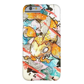 Koi fish art, watercolor Japanese art Barely There iPhone 6 Case