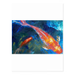 Koi Fish Beauty Postcards