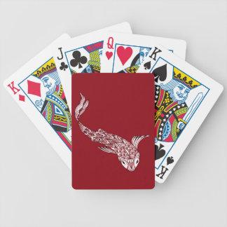 Koi Fish Bicycle Playing Cards