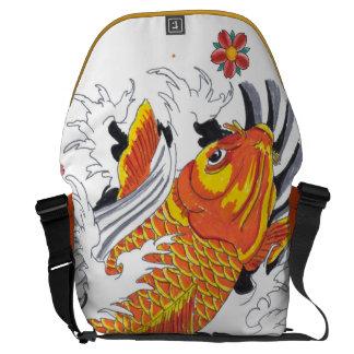 Koi fish bolsa de mensajeria