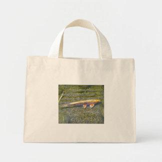 koi fish canvas bag