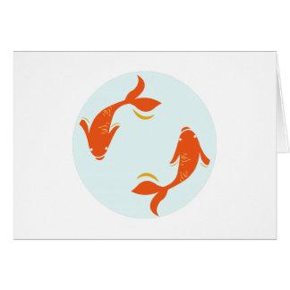 Koi Fish Greeting Cards