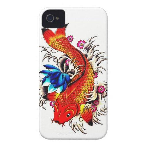Koi Fish Blackberry Case