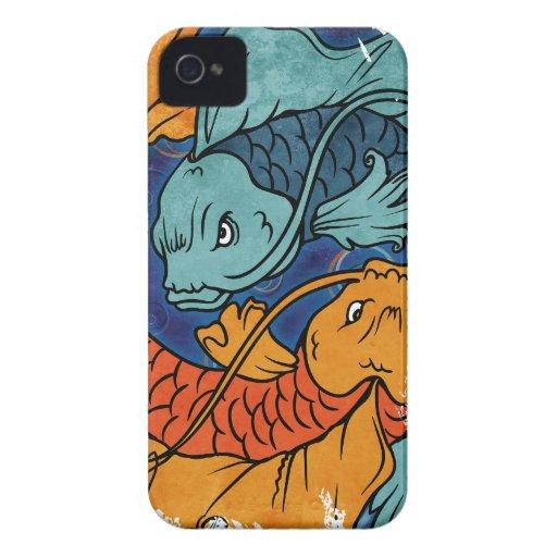 Koi Fish iPhone 4 Case-Mate Case