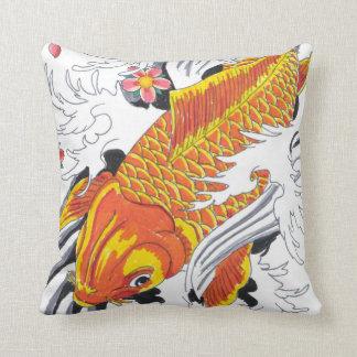 Koi fish almohadas