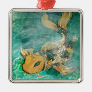 Koi Fish Design Ornament