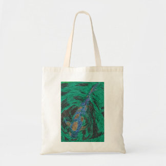 Koi Fish Drawing Tote Bag