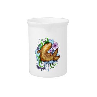 Koi Fish Drink Pitchers