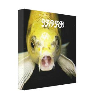 Koi Fish in Japan Canvas Print