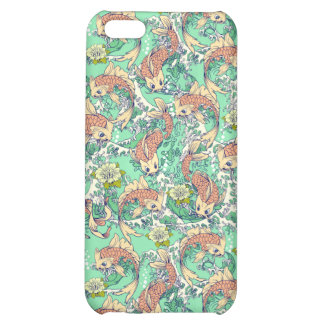Koi Fish in Pond Cover For iPhone 5C